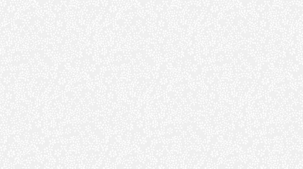 DEAR STELLA MONOCHROME WHITE, DITSY (P1487-WHT) PER CM OR $16/M