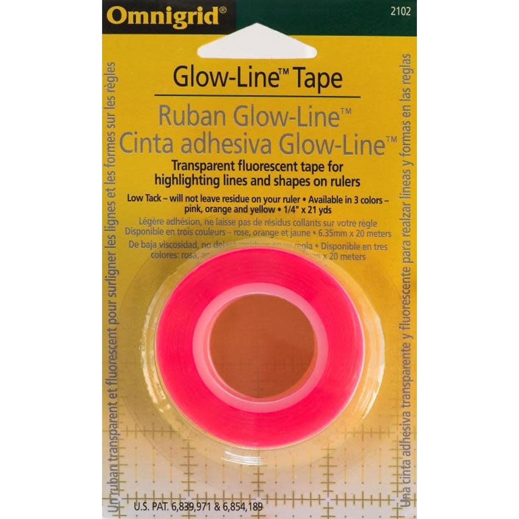 Omnigrid OMNIGRID GLOW-LINE TAPE, PINK, YELLOW & ORANGE