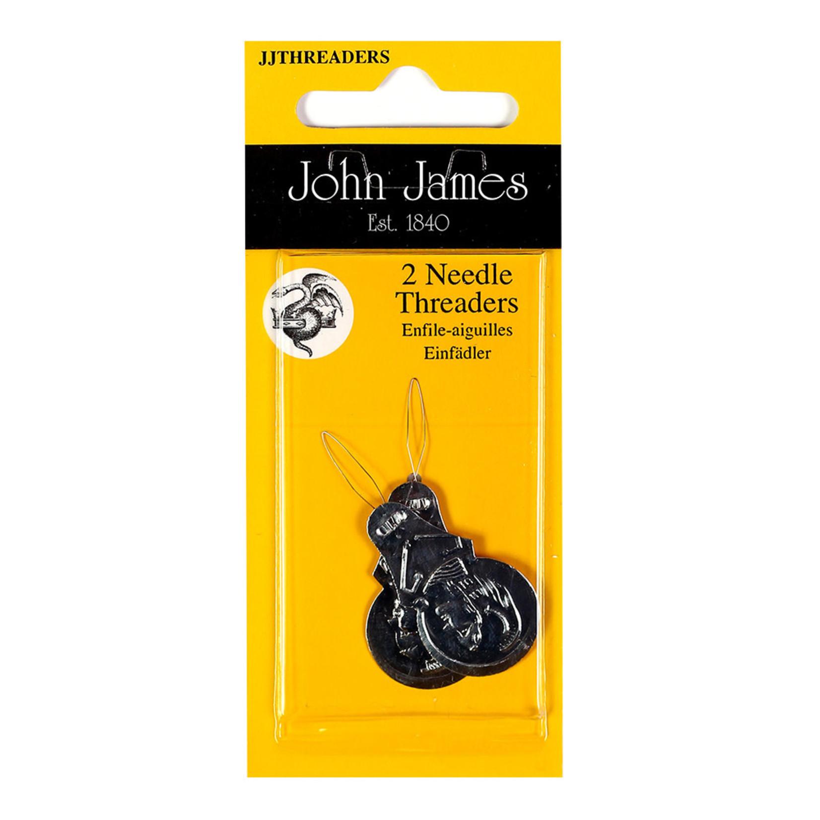 JOHN JAMES NEEDLE THREADER (2 PACK)