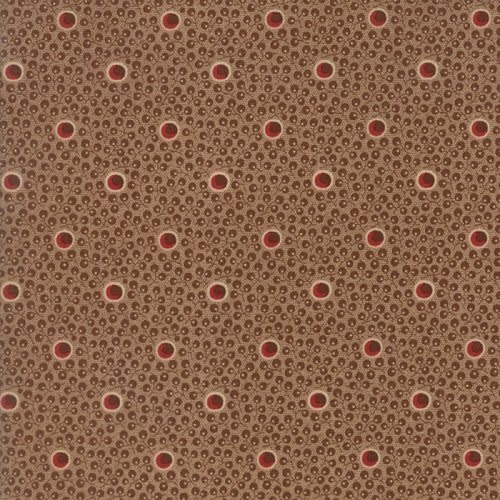 MODA HOPE'S JOURNEY, CIRCLES OF HOPE, BROWN PER CM OR $19/M NOW 12