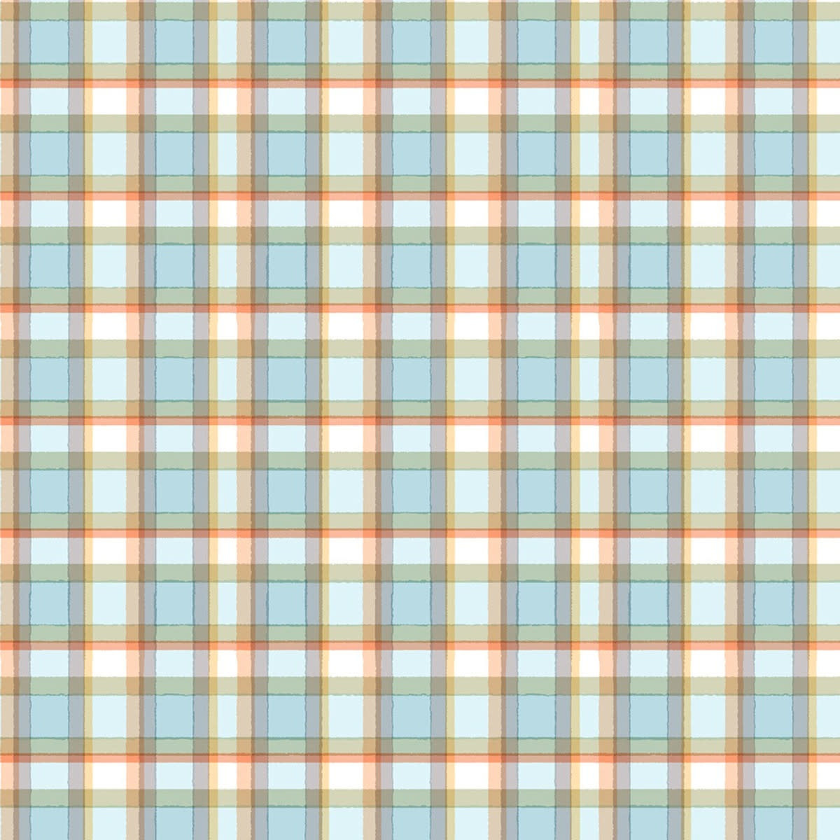 TIMELESS TREASURES SNOW DAY WINTER PLAID PER CM OR $20/M