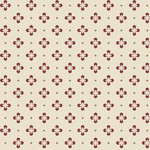 Maywood BURGUNDY & BLUSH, FOULARD DOT (Magenta on Cream), Per cm or $18/m