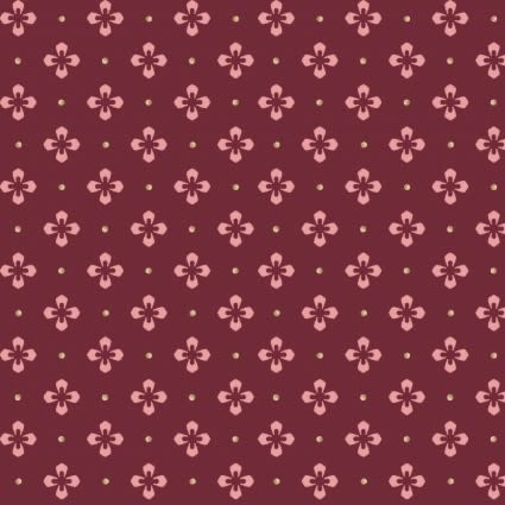 MAYWOOD BURGUNDY & BLUSH, MAS9366-M, Per cm or $18/m