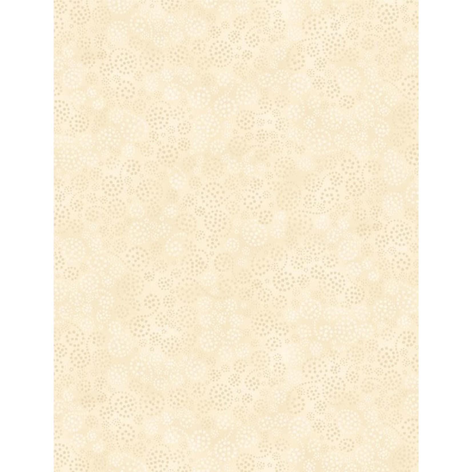 Wilmington Prints Essentials, Sparkle (Cream), per cm or $18/m