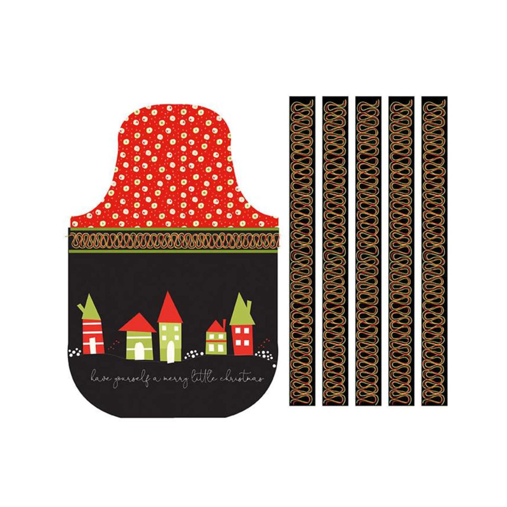 Riley Blake Designs MERRY LITTLE CHRISTMAS, APRON PANEL