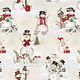 Blank Quilting Corp December Magic - Scenic Snowman $0.20 PER CM OR $20M