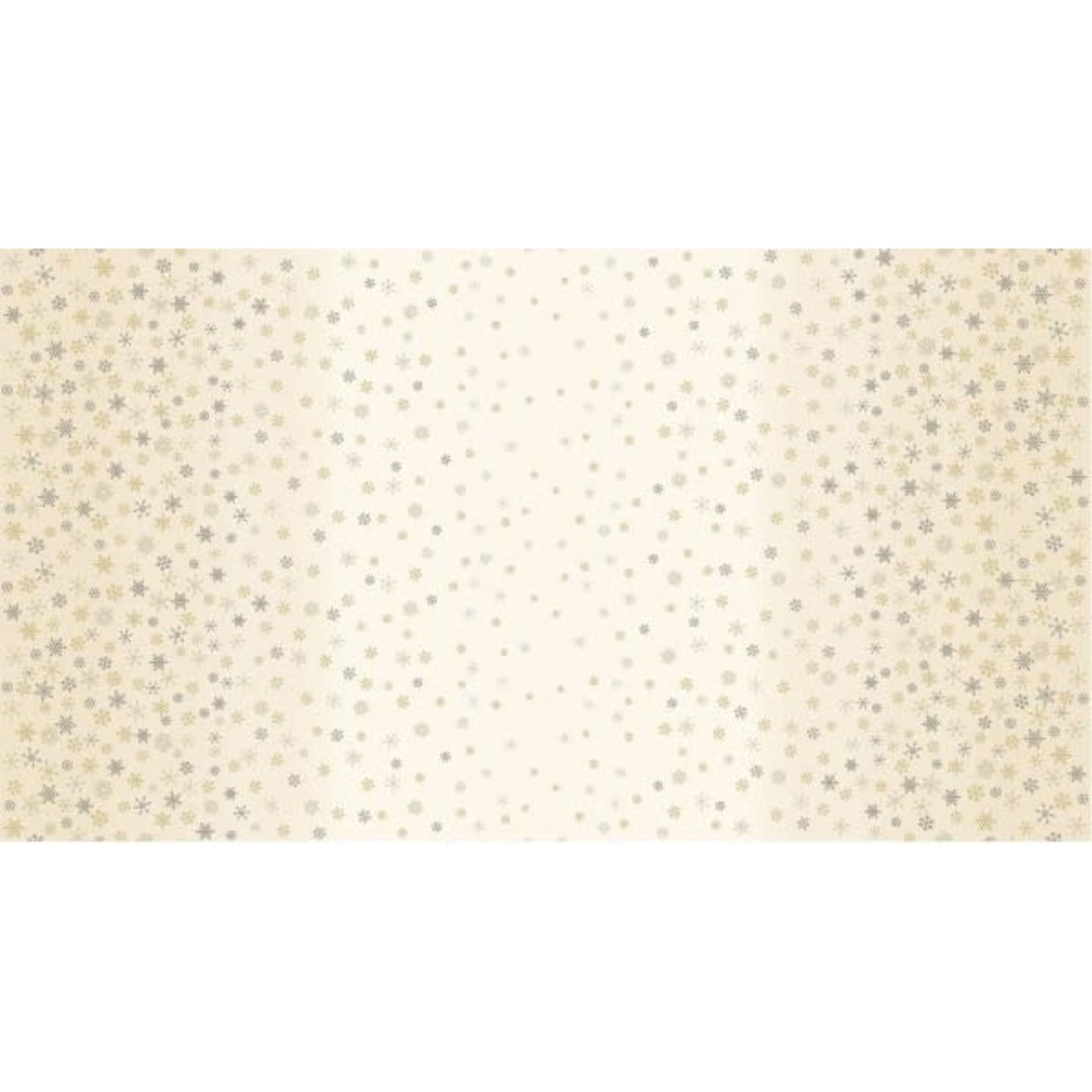 MAKOWER Snowflake, Ombré, Cream, per cm or $20/m