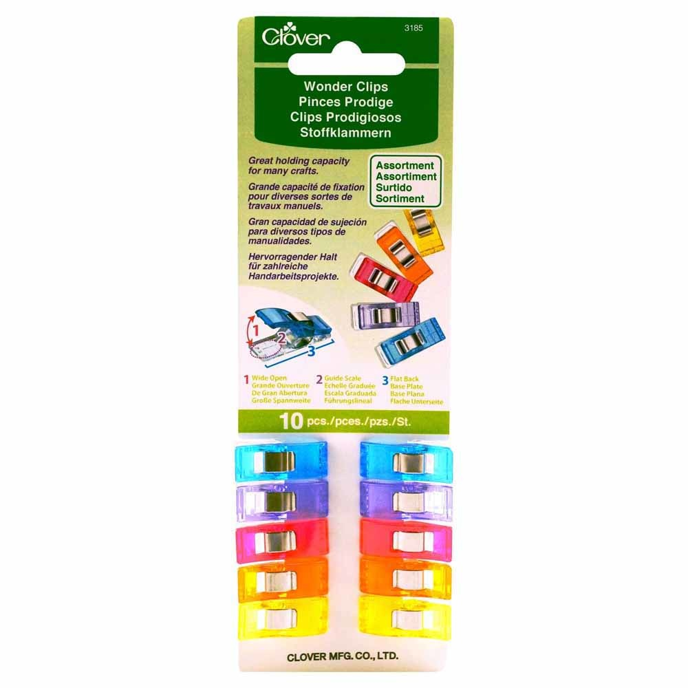 CLOVER WONDER CLIPS ASSORTMENT (10 PIECES)