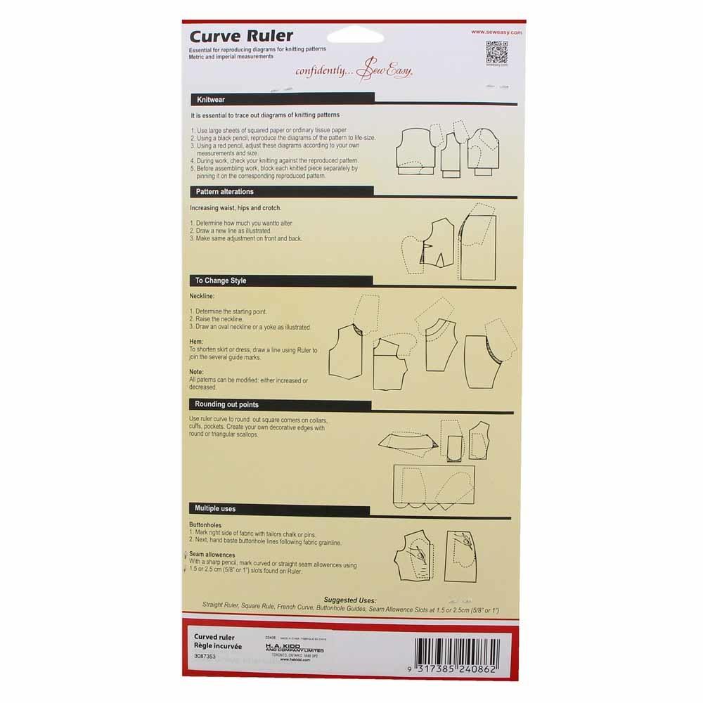 sew Easy SEW EASY CURVE RULER