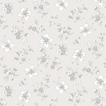 ANDOVER WILLOW, BUTTERFLIES, GREY (9613-C) PER CM OR $20/M