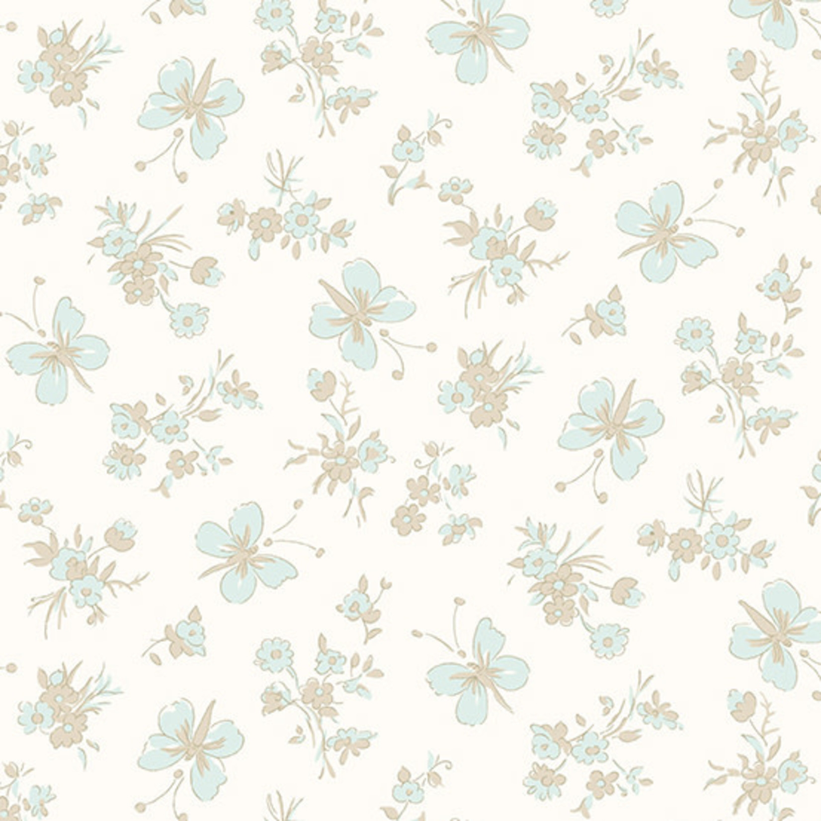 ANDOVER WILLOW, BUTTERFLIES, NEUTRAL (9613-TN) PER CM OR $20/M