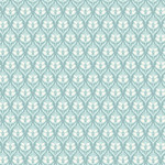 ANDOVER WILLOW, TULIPS, TEAL (9614-T) PER CM OR $20/M