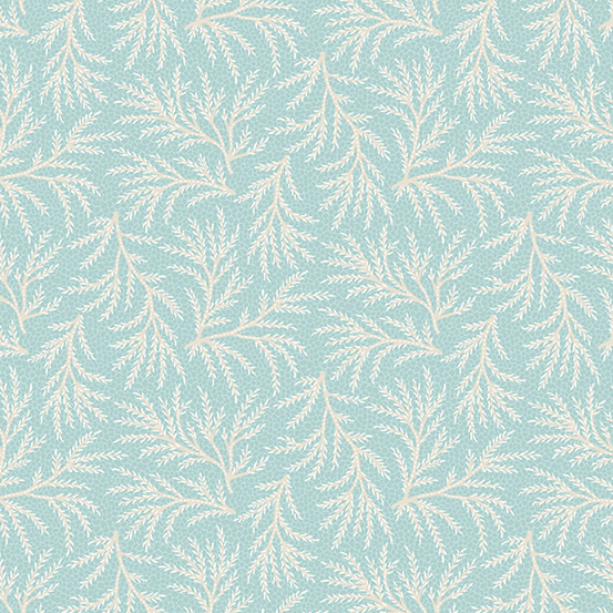 ANDOVER WILLOW, FERN, TEAL (9621-T) PER CM OR $20/M