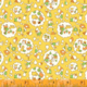 WINDHAM FABRICS STORYBOOK, NURSERY, YELLOW (51978-4) PER CM OR $20/M