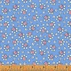 WINDHAM FABRICS STORYBOOK, BOUQUET, BLUE (51982-2) PER CM OR $20/M