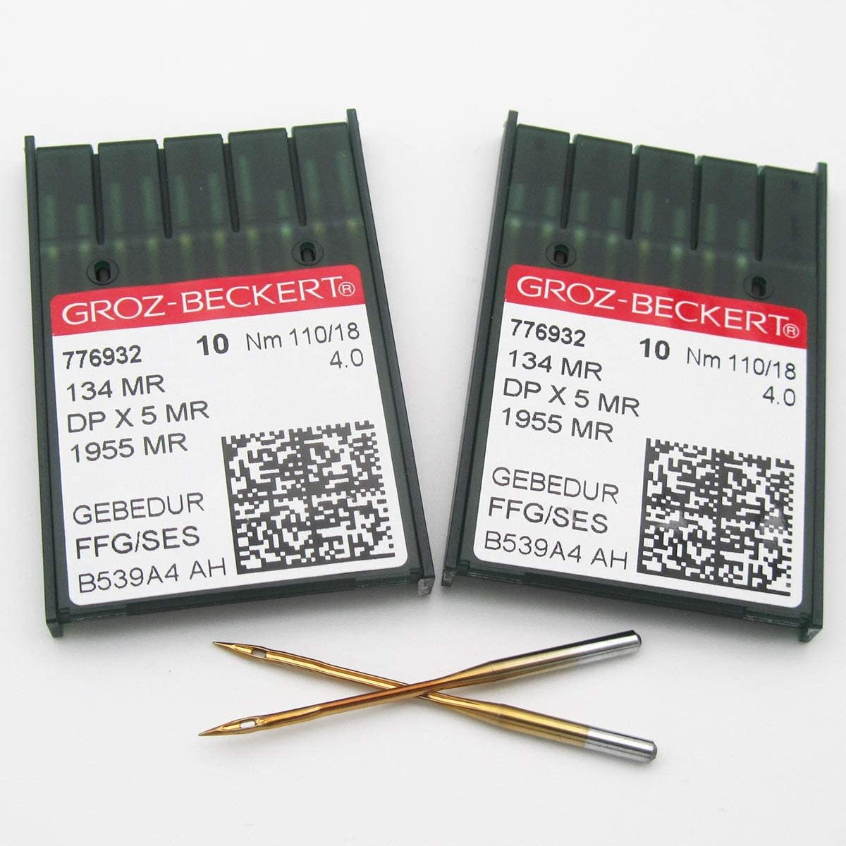 GROZ-BECKERT NEEDLE, SYSTEM 134MR #3.5/100  (10 PACK)