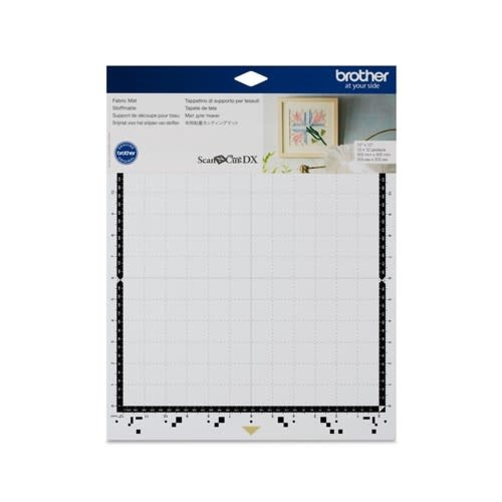 """Brother BROTHER  FABRIC MAT 12""""x 12"""" SCAN N CUT DX"""