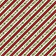 WILMINGTON PRINTS EVERGREEN FARM, HOLLY STRIPE, RED (39649-237)PER CM OR $20M