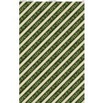 Wilmington Prints EVERGREEN FARM, HOLLY STRIPE, GREEN (39649-727)PER CM OR $20M