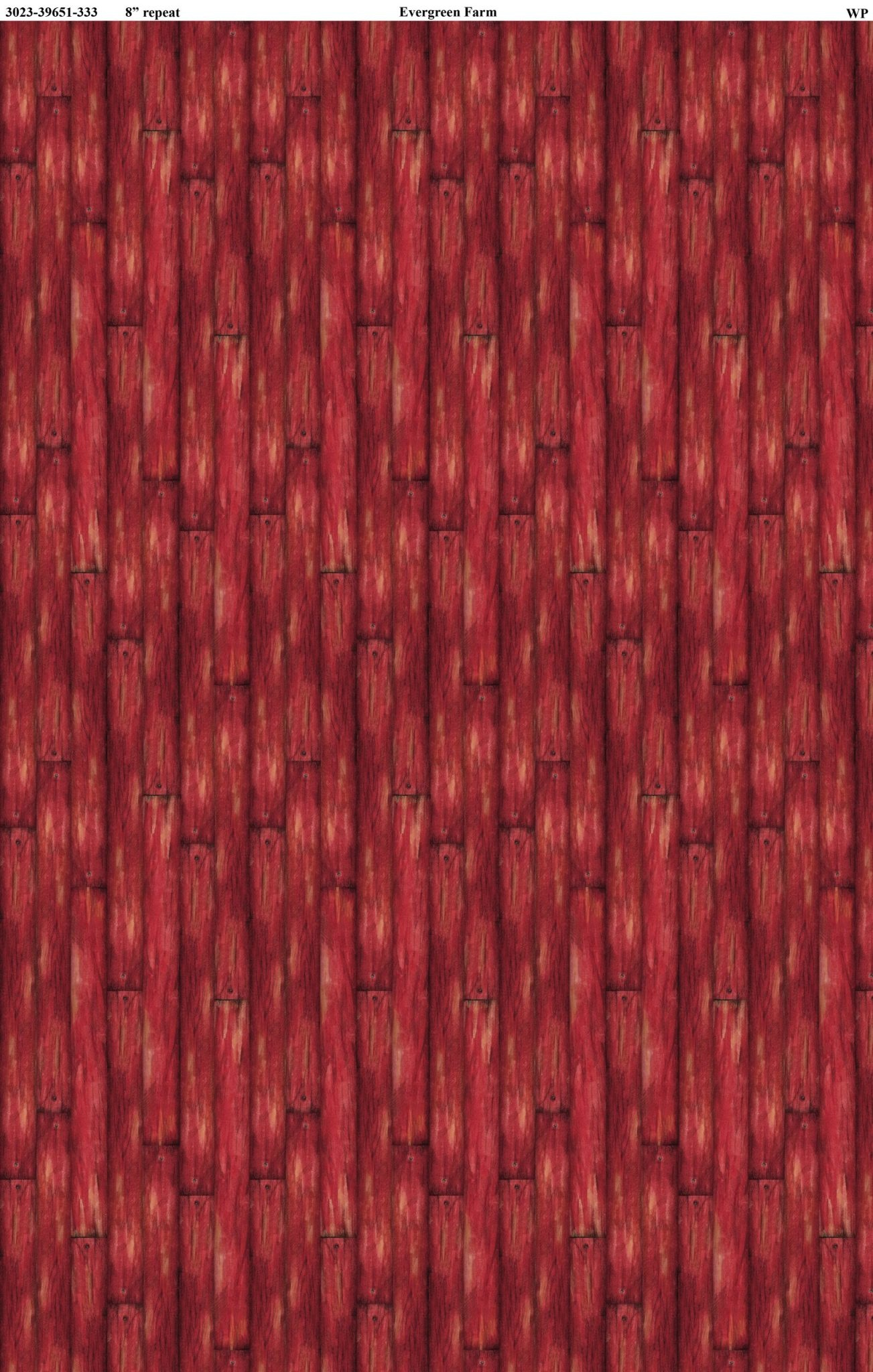 WILMINGTON PRINTS EVERGREEN FARM, BARN WOOD, RED (39651-333) PER CM OR $20M