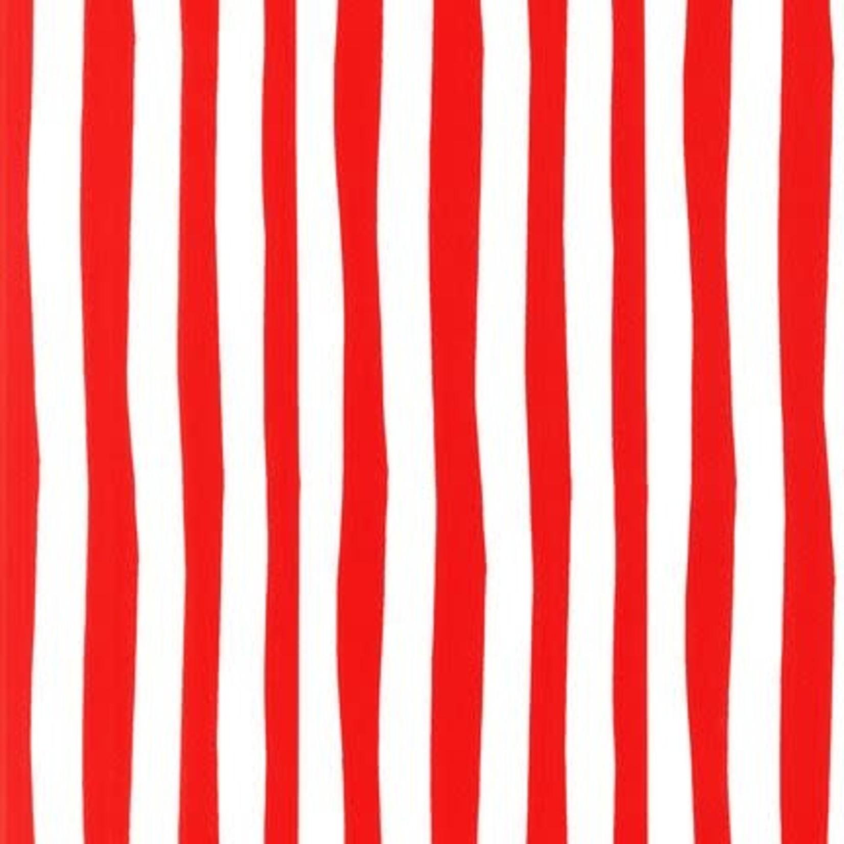 ROBERT KAUFMAN CELEBRATE SUESS, RED $0.19CM OR $19/M