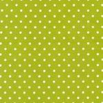 Cozy Cotton GREEN W/ WHITE DOTS FLANNEL, PER CM OR $16/M