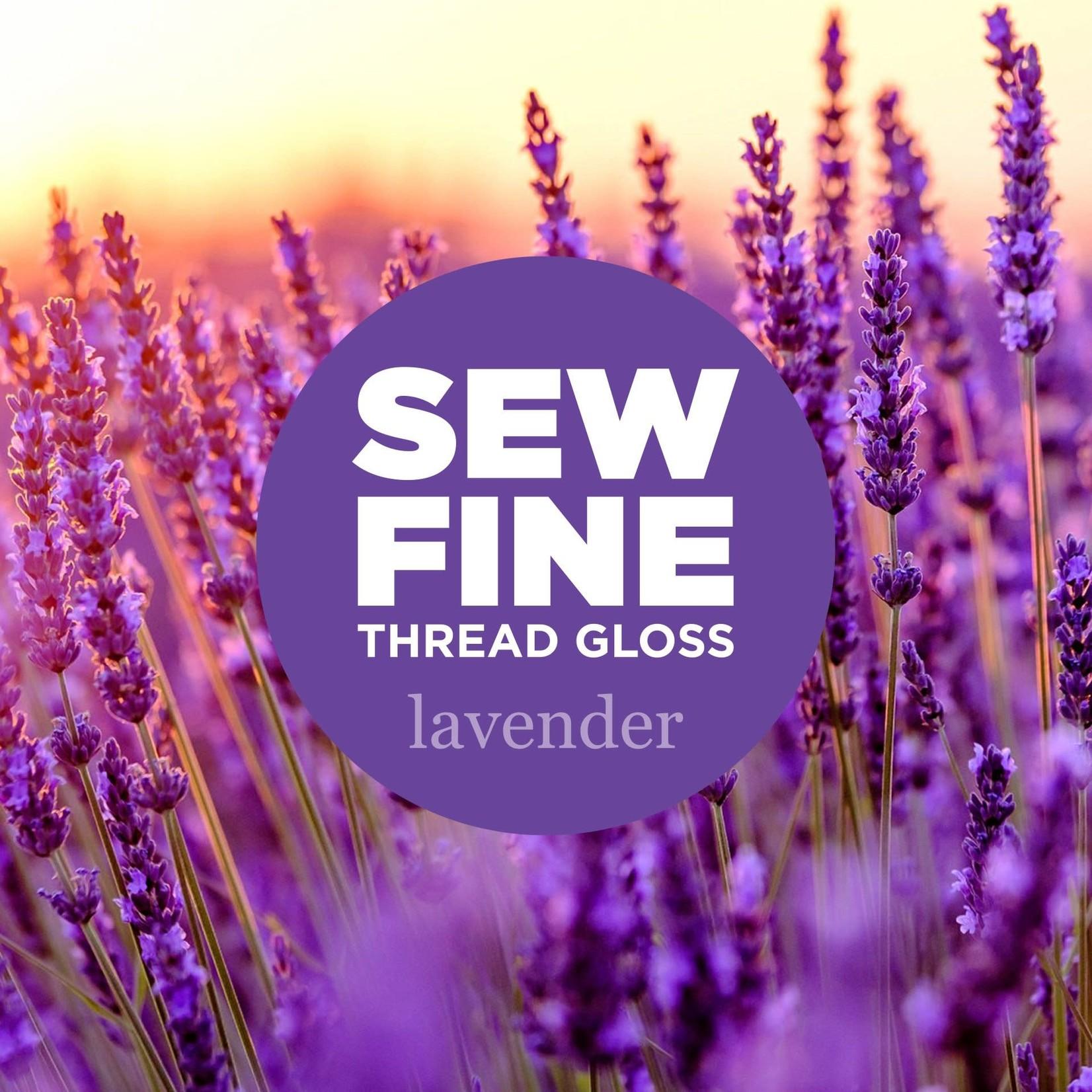 Sew Fine Sew Fine Thread Gloss: Lavender 0.5 oz