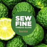 Sew Fine Sew Fine Thread Gloss: Karma 0.5 oz