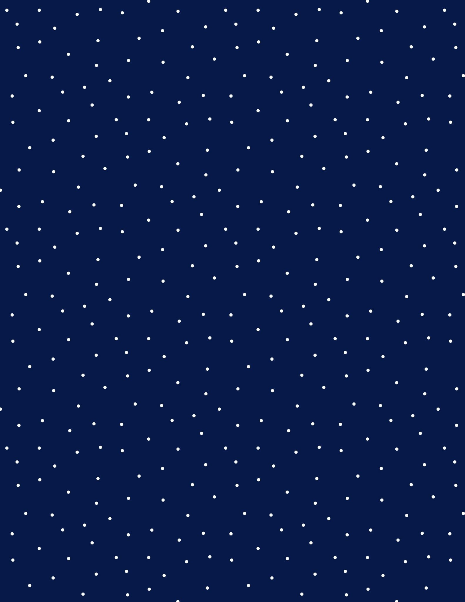 WILMINGTON PRINTS PINDOTS, NAVY/WHITE (491) PER CM OR $18 PER M