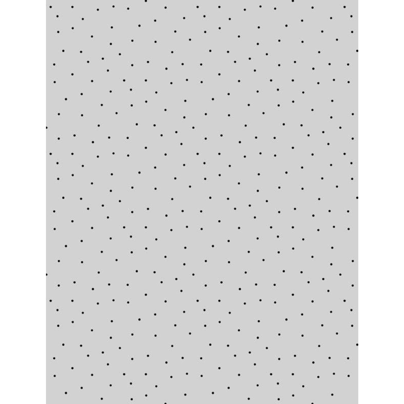 WILMINGTON PRINTS PINDOTS, GREY/BLACK (919) PER CM OR $18 PER M