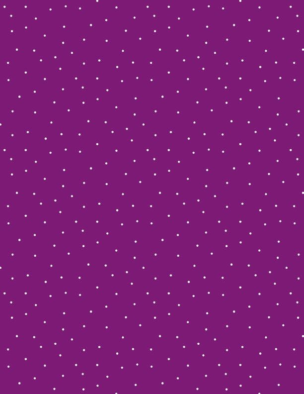 WILMINGTON PRINTS PINDOTS, MULBERRY/WHITE (601) PER CM OR $18 PER M