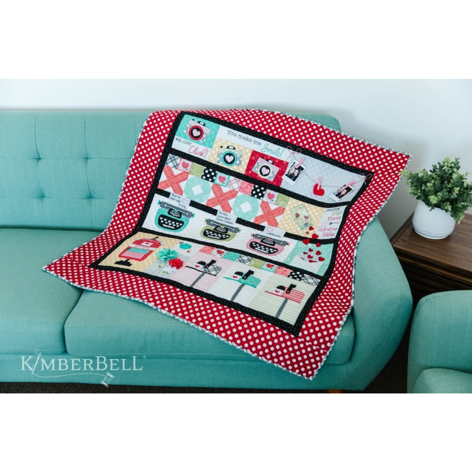 KIMBERBELL DESIGNS Love Notes Mystery Quilt - Sewing only version
