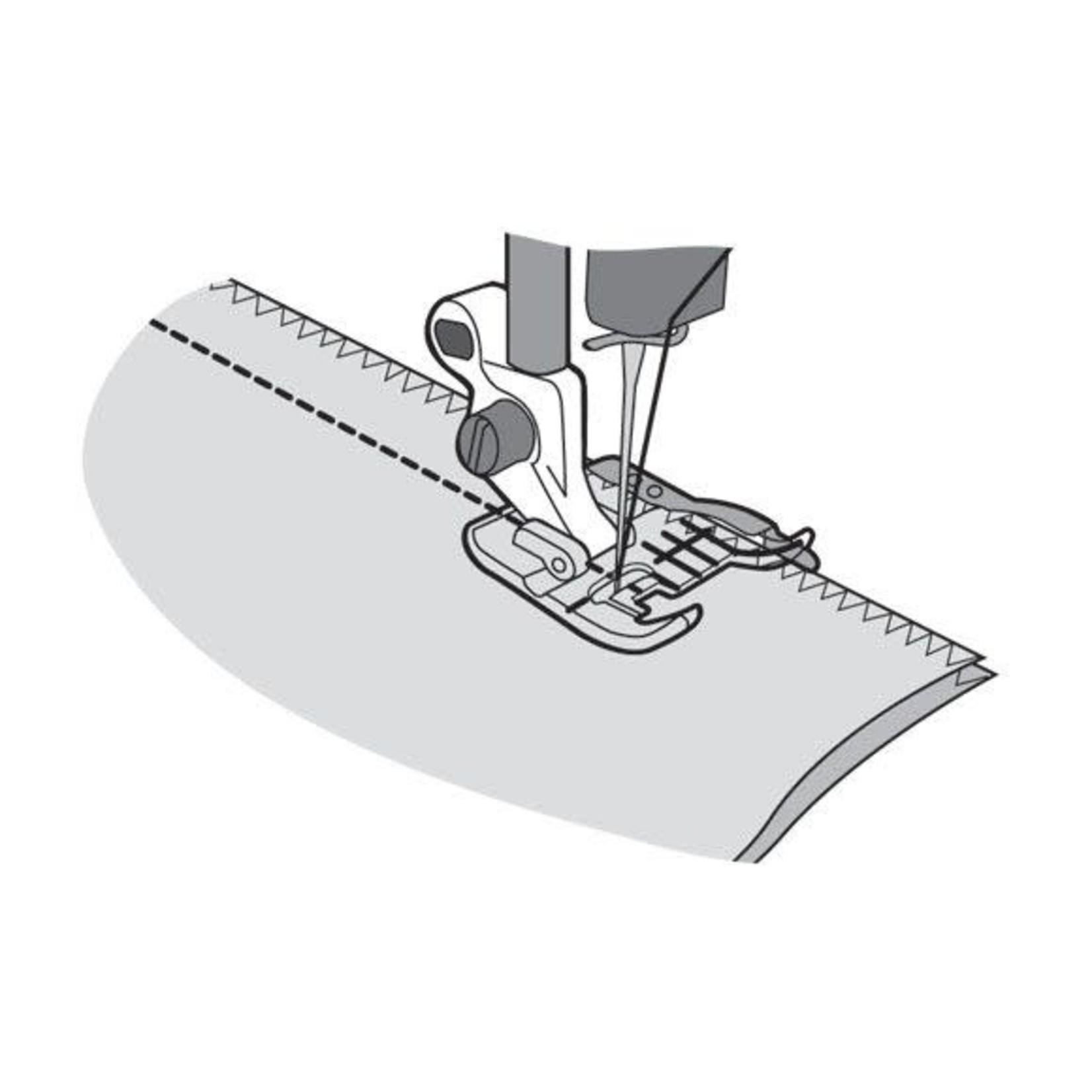 Husqvarna Viking CLEAR SEAM GUIDE FOOT HV BLISTER GRP 1-8