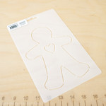 Laundry Basket Quilts STENCIL GINGERBREAD MAN
