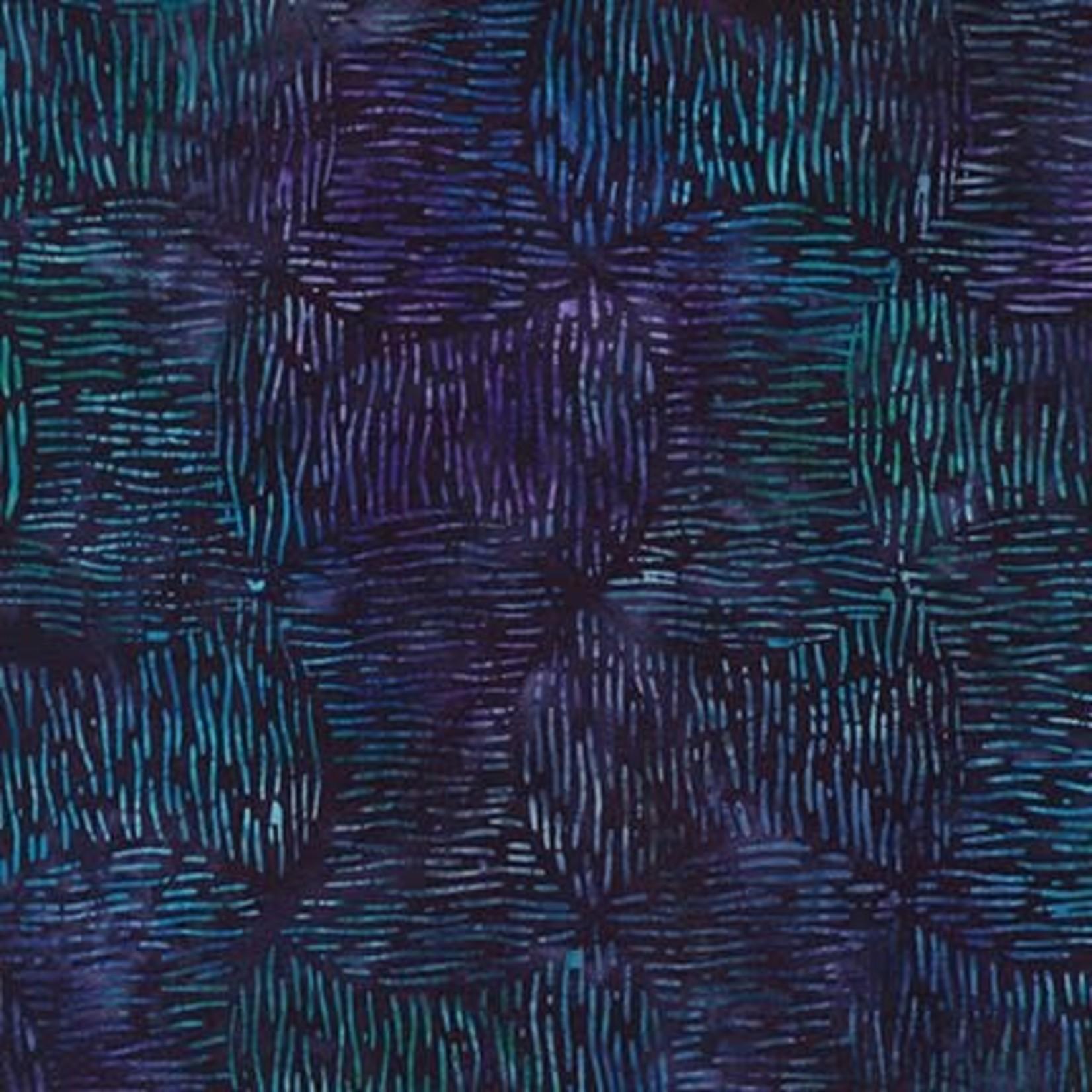 Robert Kaufman LUNN STUDIOS BATIKS, DAYBREAK - BOBBINS - PURPLE 19888-6 PER CM OR $20/M