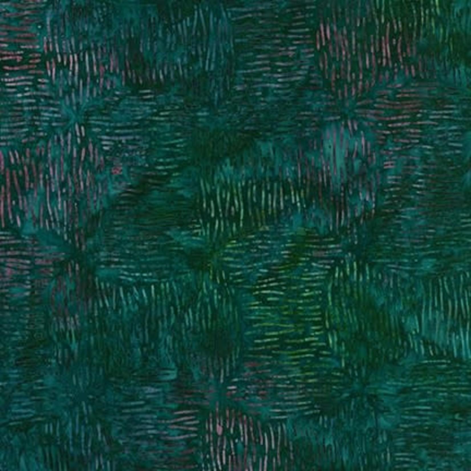 Robert Kaufman LUNN STUDIOS BATIKS, DAYBREAK - BOBBINS - GREEN 19888-7 PER CM OR $20/M