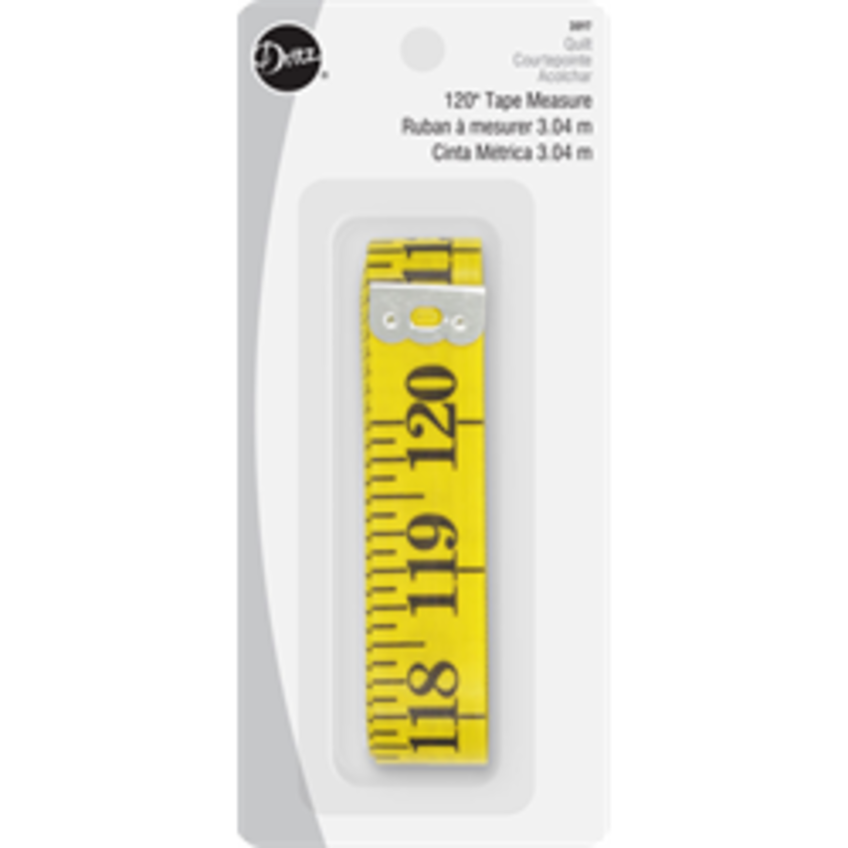 "DRITZ 120"" TAPE MEASURE"