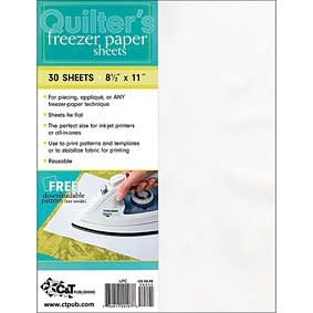 C&T PUBLISHING FREEZER PAPER SHEETS - 30