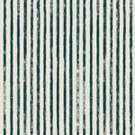 Dashwood Midnight Garden, Stripes on White LINEN/COTTON