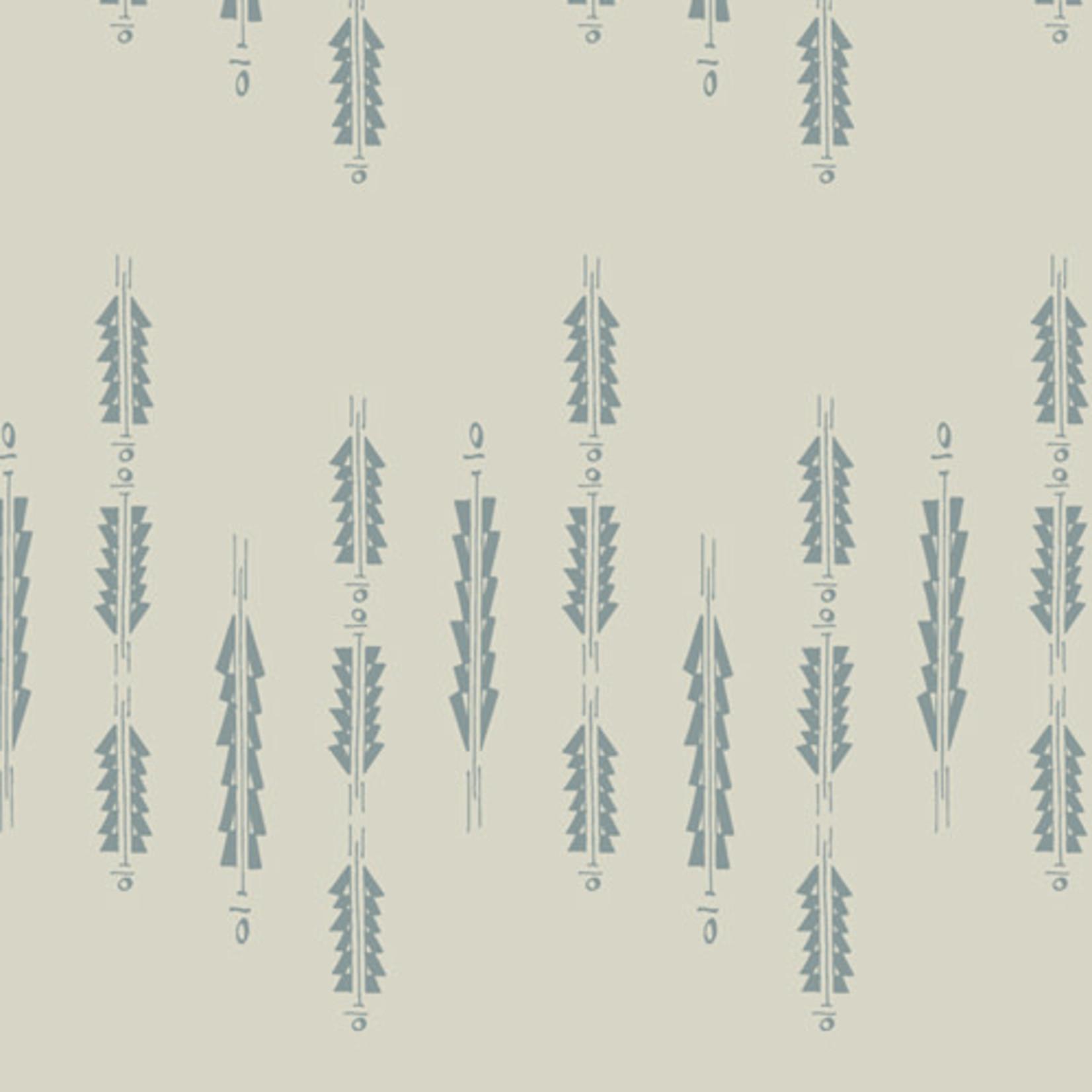 Art Gallery Serenity Fusion, Aura Fletchings Serenity (FUS-SE-2111) .20/cm or $20/m