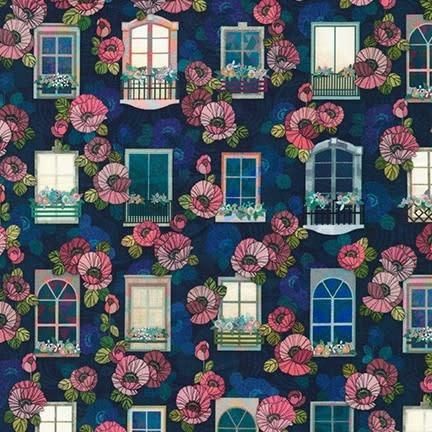 ROBERT KAUFMAN HAPPY PLACE, WINDOWS, NIGHT $0.20/CM OR $20/M