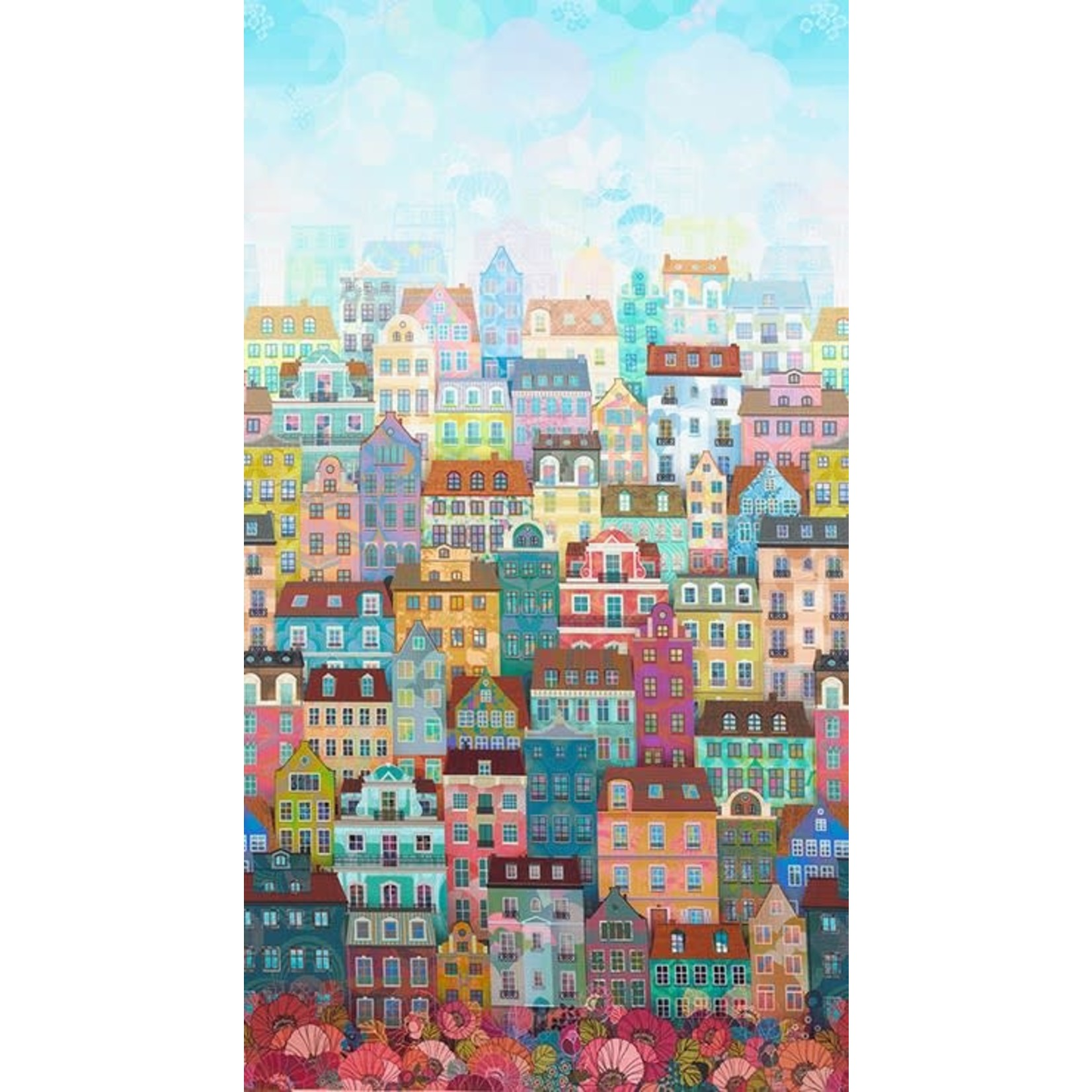 ROBERT KAUFMAN HAPPY PLACE, CITYSCAPE, DAY $0.20/CM OR $20/M