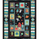 Makower UK OUTER SPACE WALL HANGING KIT - BINDING INCLUDED - BACKING NOT INCLUDED