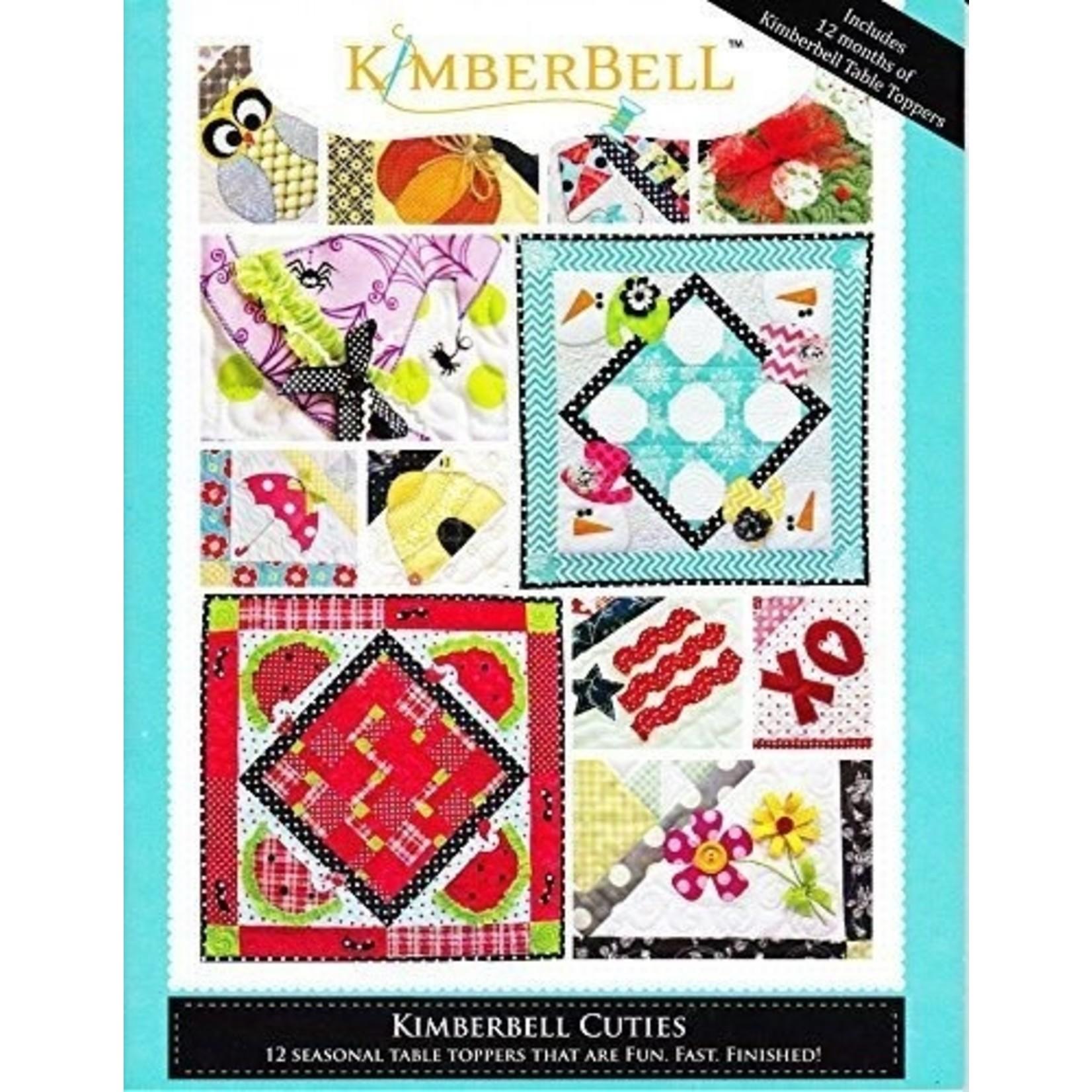 Kimberbell Designs KIMBERBELL CUTIES 12 SEASONAL TABLE TOPPERS