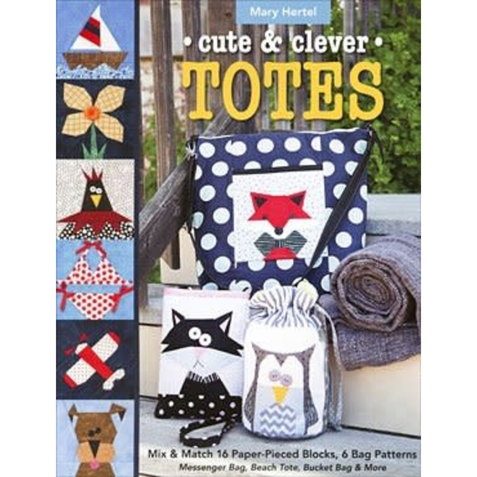 C & T Publishing CUTE & CLEVER TOTES