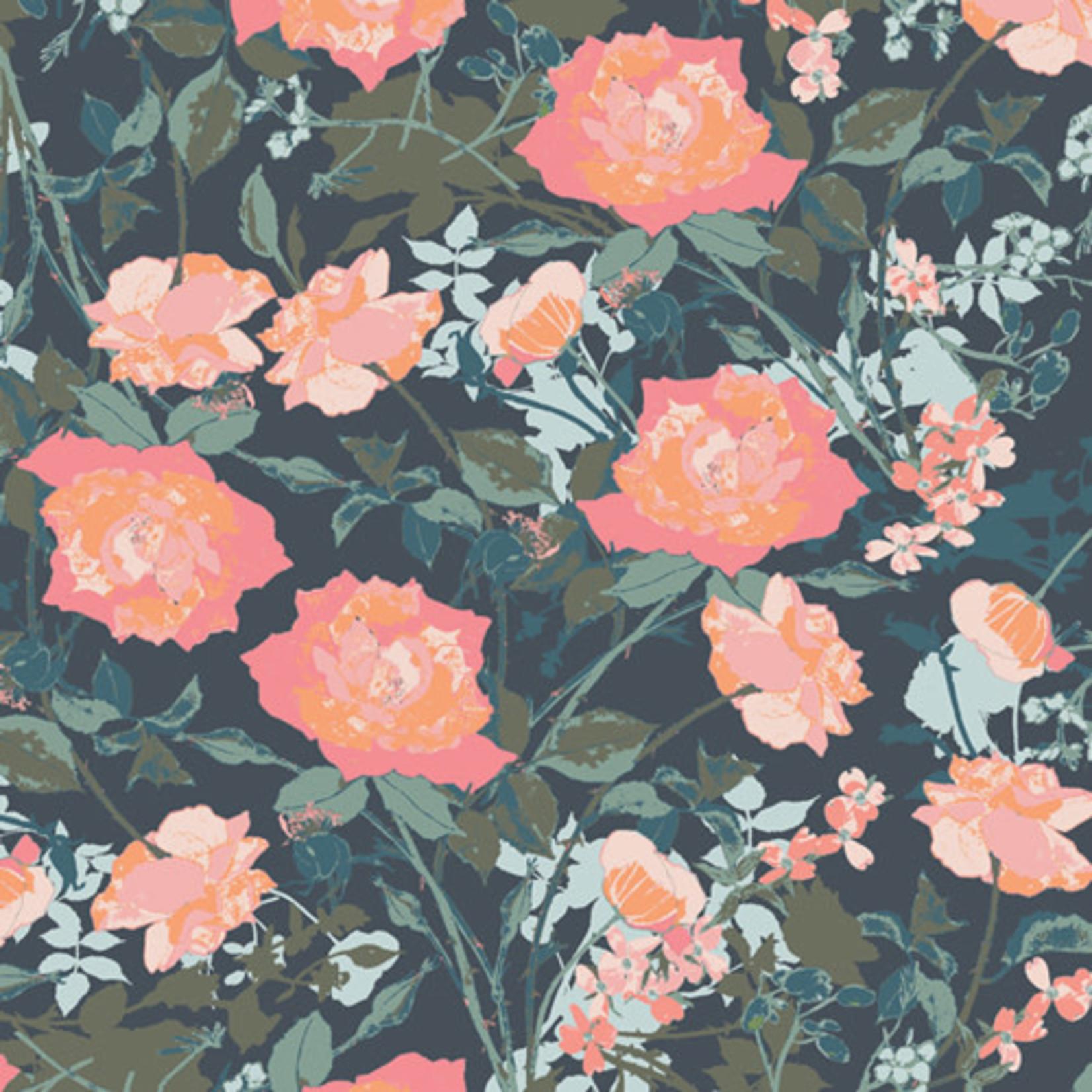 ART GALLERY PICTURESQUE, ROSEMANTIC TRELLIS DIM 39450 0.20/cm or $20/m