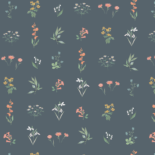 ART GALLERY PICTURESQUE, BOTANICAL STUDY SOFT 39457 $0.20/cm or $20/m