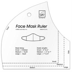 JUNE TAILOR FACE MASK RULER / template