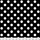 Tula Pink LINEWORK, POM POMS, INK $0.17 PER CM OR $17 PER M