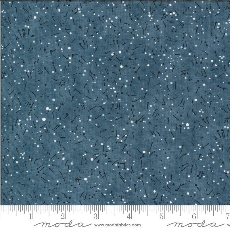 MODA THE BLUES, NOTES, FITSGERALD (16902-18) $0.21 PER CM OR $21/M